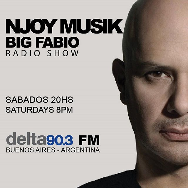 Delta Podcasts - NJOY MUSIK By Big Fabio (23.09.2017)