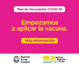 GCBA Plan de vacunación
